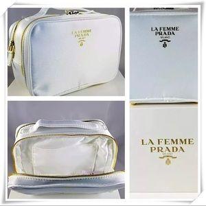 Authentic La Femme PRADA Milano-Vanity Case
